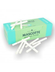 Mascotte Filter Tubes Menthol 200's x 1 Box