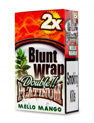 Platinum Blunt Cigar Wraps Mello Mango x 25