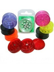 Acrylic Plastic 2 Tier Mini Grinder Blister Pack x 1