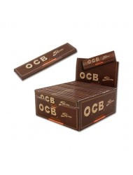 OCB Rolling Paper King Size Slim Virgin  x 50