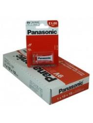 Panasonic 9V 1 Pack x 12