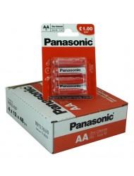 Panasonic AA 4 Pack x 12