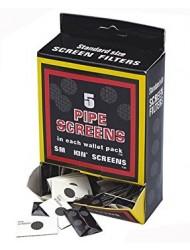 Pipe Screen Gauzes Filter Steel 5 Pack x 100 Full Box