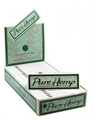 Smoking Rolling Paper 1 1/4 Pure Hemp x 25