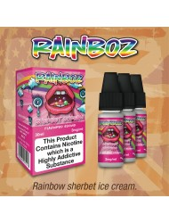 Eco Vape Taste of America Rainboz Sherbet Scream - Rainbow Sherbert Ice Cream 30ml