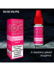 Eco Vape Dripping Range Raspberry Donut - Raspberry Glazed Donut 10ml