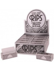 Rips Rolling Paper Black Xtra Thin King Size x 24