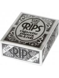 Rips Rolling Paper Black Xtra Thin Slim x 24
