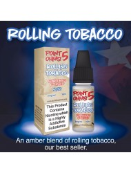 Eco Vape Point 5 Ohms Rolling Tobacco 10ml