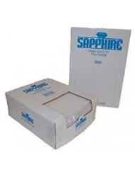 Saphire Clear Poly Bags Boxed All Size x 1000
