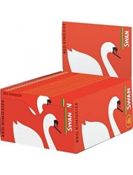 Swan Rolling Paper King Size Red x 50