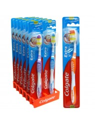 Colgate Toothbrush Clean & Zig Zag x 12