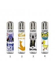 Clipper Lighter Design Animal Puns x 40