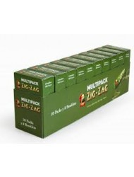 Zig Zag Rolling Paper Standard Multipack Green 8's x 80