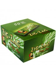 Zig Zag Rolling Papers King Size Green x 50