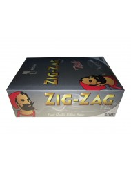 Zig Zag Rolling Papers Silver Rolls x 24