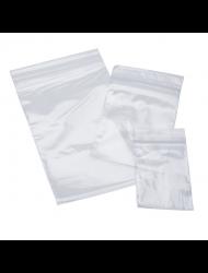 Mini Clear Bag Zip Up 40 x 40mm