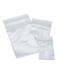 Mini Clear Bag Zip Up 30 x 30mm